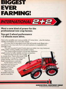 1979 Ad International Harvester Farming Equipment Machinery Agriculture SF3