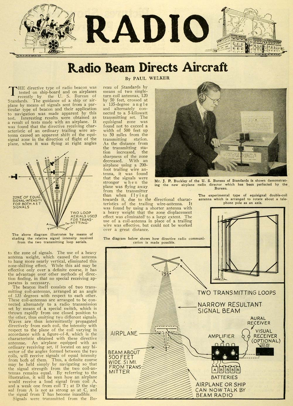 1927 article science invention radio beam directs aircraft 1927 article science invention radio beam directs aircraft blueprint jp si1 malvernweather Choice Image