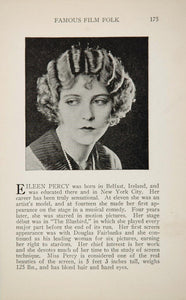 1925 Eileen Percy David Powell Silent Film Movie Actor ORIGINAL HISTORIC IMAGE