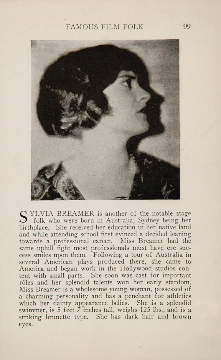 pictures Sylvia Breamer