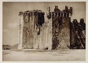 1926 Trogir Croatia Trau Fort Tower Camerlengo Castle - ORIGINAL SLAV1
