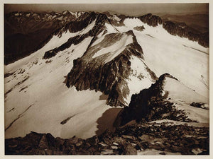 1925 Maldeta Mountain Range Pyrenees Pirineos Spain - ORIGINAL PHOTOGRAVURE SP1