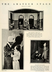 1924 Print Stage Kehoe John Masefield Melloney Holtspur Pasadena Play Manor THM