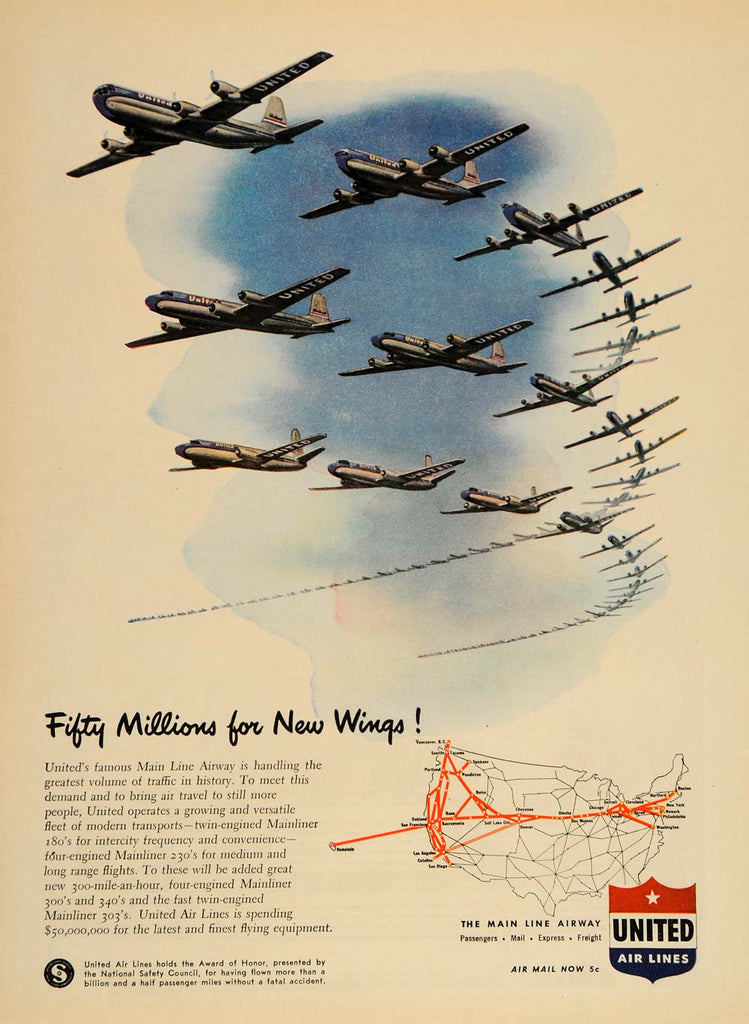 Aviation & Airplanes Advertising tagged