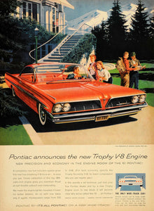 1960 Ad Pontiac '61 Bonneville Sports Coupe Wide-Track - ORIGINAL TM3