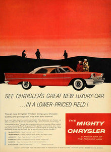 1957 Ad Mighty Chrysler Windsor Torsion-Aire Suspension - ORIGINAL TM3