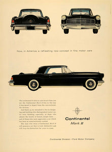 1955 Ad Continental Mark II Ford Motor Car Automobile - ORIGINAL ADVERTISING TM5