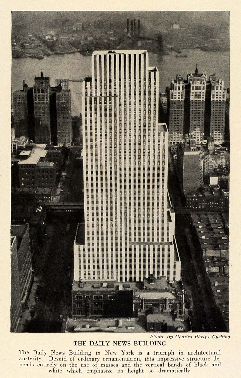 1989 I know of no other. This is a rare print Chrysler Building Print