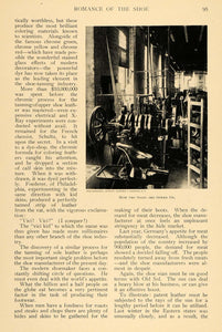 1908 Article Shoemaking Factory Shoe Design Germany - ORIGINAL TW2