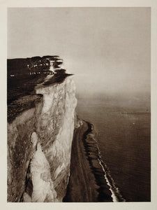 1926 Seaford Seven Sisters Chalk Cliffs Sussex England - ORIGINAL UK1