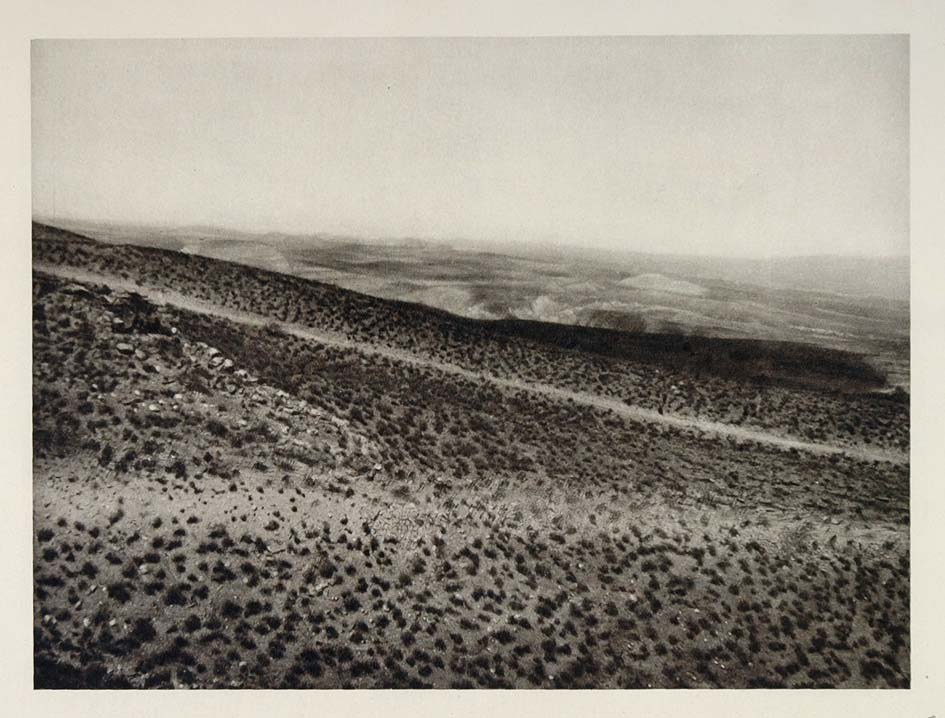 1927 Landscape Valley of the Virgin Utah Photogravure - ORIGINAL US2