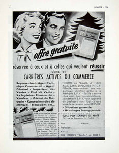 1956 Ad French Ecole Polytechnique Vente Sales 71 Rue Provence Manual VEN6