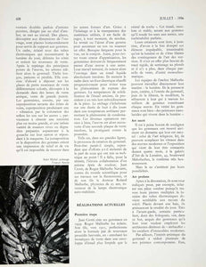 1956 Article Gemmail Stained Glass P Courtial Daisy Sarrat Art Form VEN7