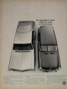 ORIGINAL 1967 Volkswagen VW Squareback Sedan Ad - ORIGINAL ADVERTISING VWL