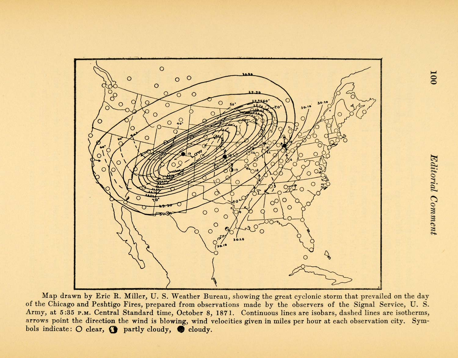 Maps Tagged United States Period Paper - Us weather bureau maps