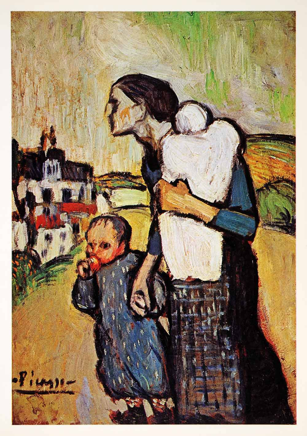 Pablo Picasso Family Painting