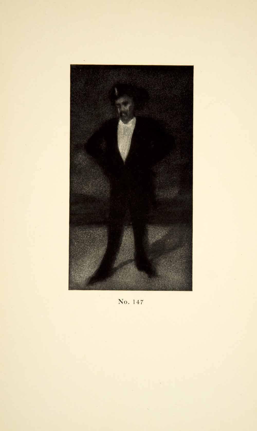 1913 Print James Abbott McNeill Whistler Art Spy Self-Portrait Cartoon XALA3