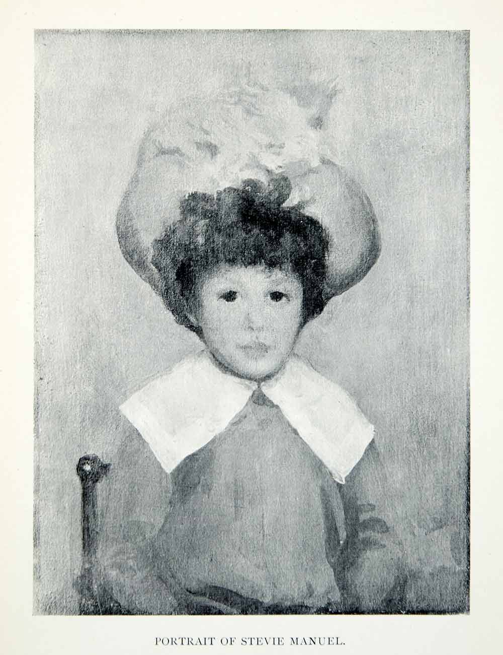1904 Print James McNeill Whistler Stevie Manuel Child Boy Portrait Young XALA5