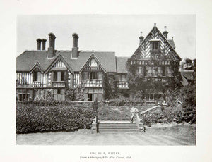 1906 Print Hill Witley Park Surrey England Whitaker Wright Mansion Manor XAT7