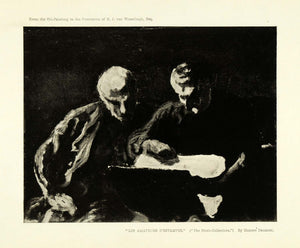 1904 Print Honore Daumier French Oil Artwork Print Collectors Artistry XDA5