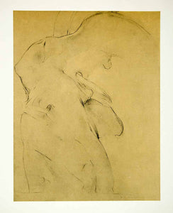 1963 Rotogravure Victory Samothrace Sketch Study Figure Abstract Edwin XDE1