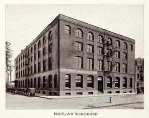 1926 Print Heywood Wakefield Company Portland Oregon Furniture Warehouse XDG3