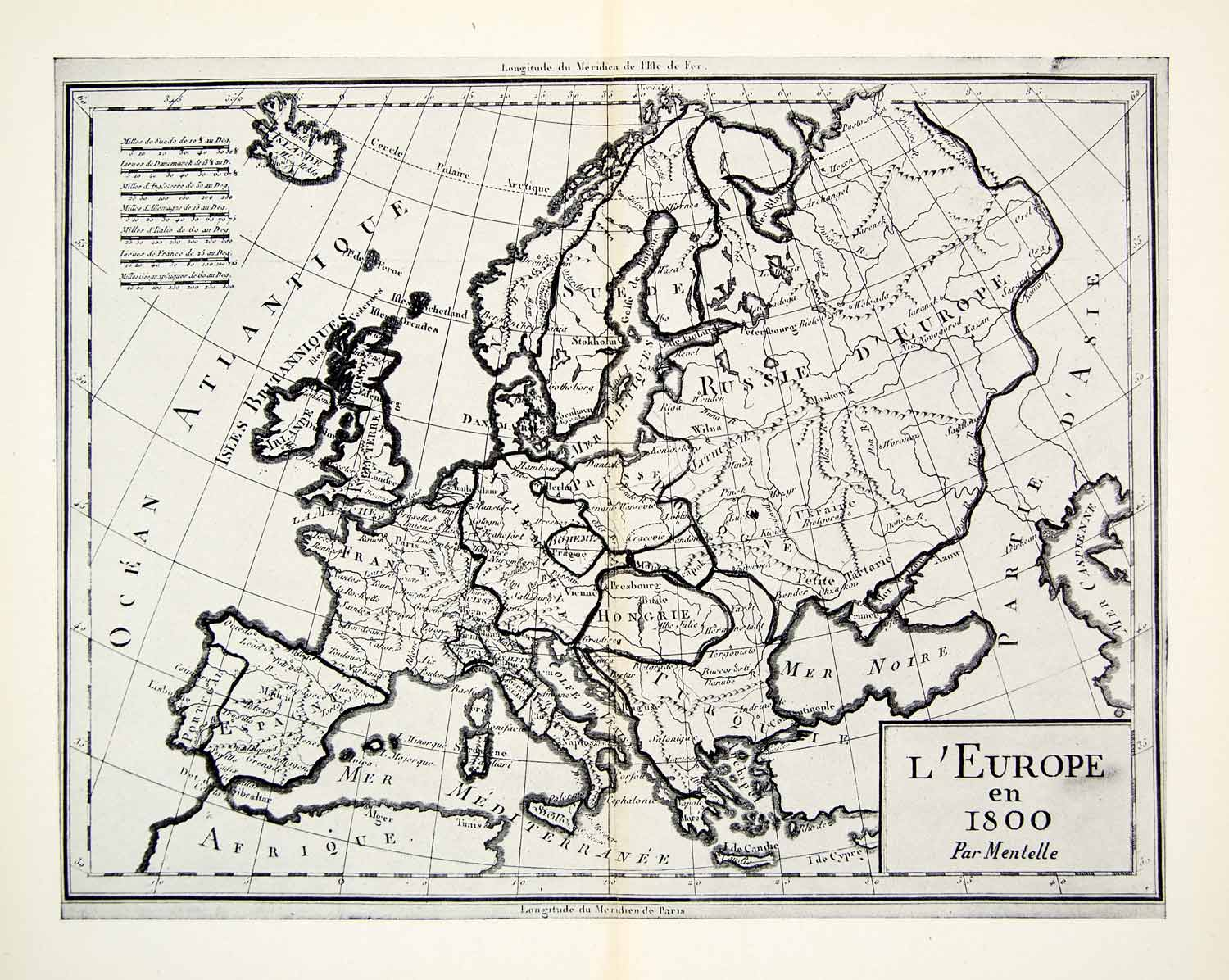 1944 Map L'Europe 1800 Ocean Atlantique Danmark Irlande France Paris Images Of Map Europe on map of asia 1900, blank map europe 1800, map of spain, map of austria-hungary during ww1, map 10000 years in the future, map south america 1800, map with 7 emirates uae, map of absolute monarchs, map russia 1800, map in europe, map west indies 1800,
