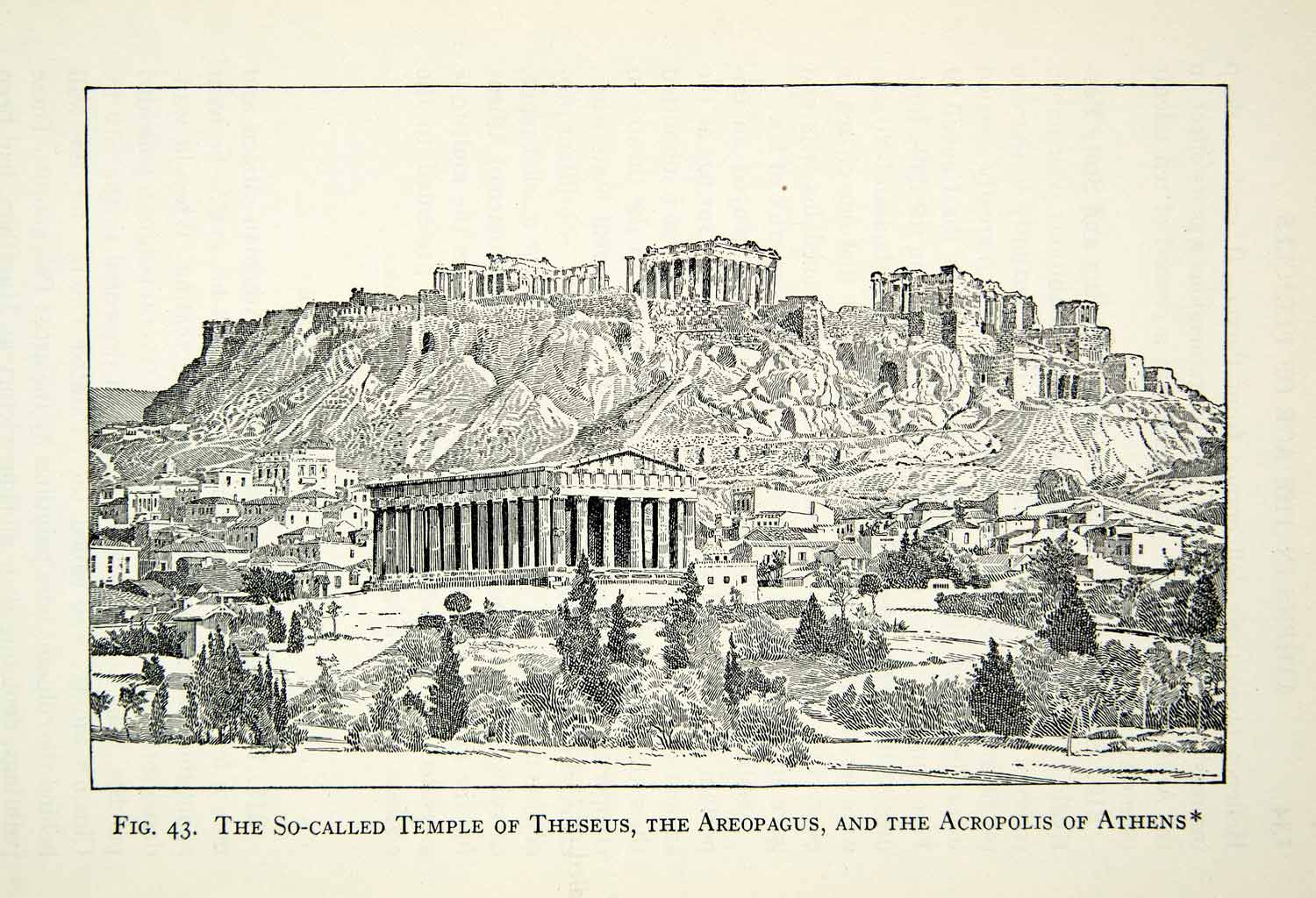 athenian acropolis paper Shop vintage greece, athens, acropolis, parthenon poster created by postcardemporium personalize it with photos & text or purchase as is.