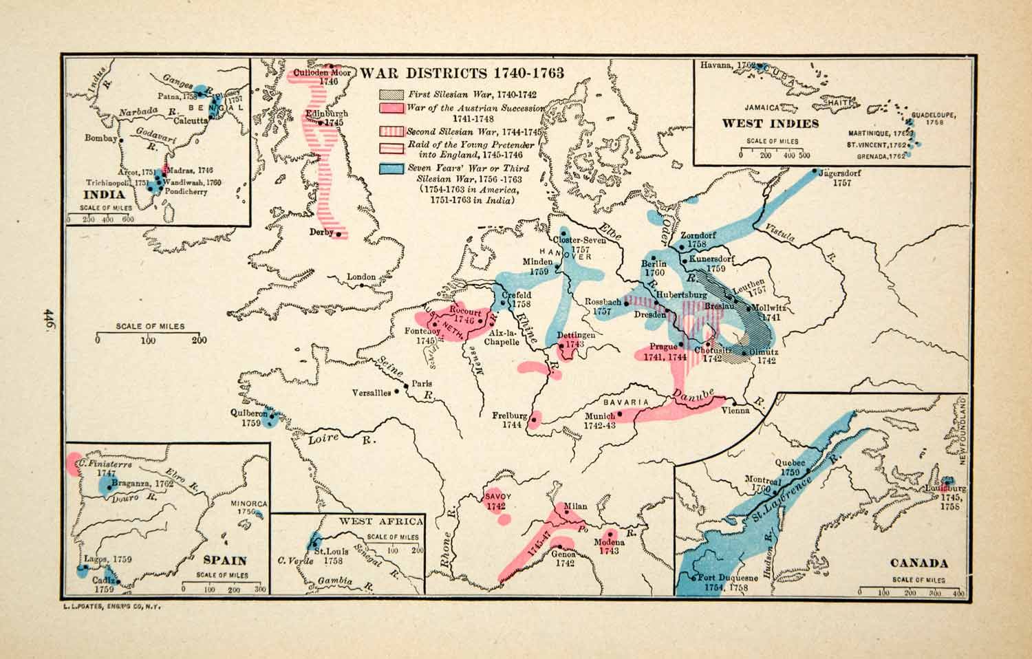 Districts Of France Map.1918 Print Map Europe War Districts England Germany France Silesian Xeca1