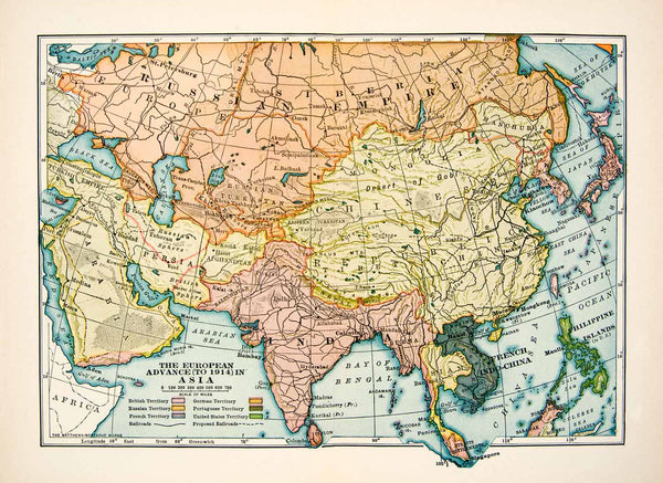 Map Of Asia 1930.Maps Tagged Xer6 Period Paper