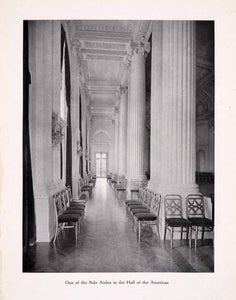 1911 Print Pan American Building Structure Columns Hall Americas Aisles XGBA5