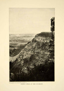 1903 Print Colorado River Grand Canyon Landscape Historical Image View XGFD2