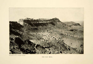1903 Print Walpi Arizona East Mesa Landscape Historical Image View Native XGFD2