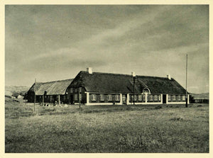 1949 Print Holmsland Denmark Coast Guard Station Military Historic Image XGH9