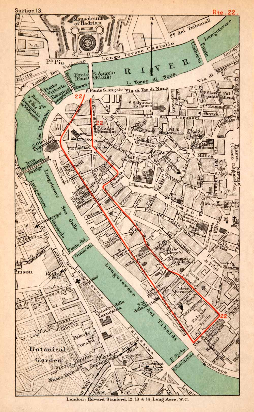 Maps Tagged Italy Period Paper - Ancient rome map tiber river