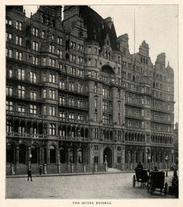 1910 Print Hotel Russell London Blomsbury Charles Fitzroy Doll Henry Fehr XGM2