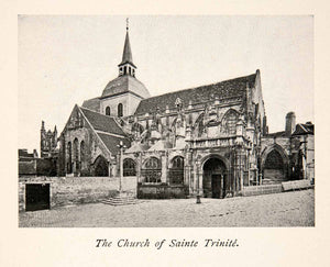 1900 Print Saint Trinitie Church William Guillaume-le-Conquerant Falasie XGZB2
