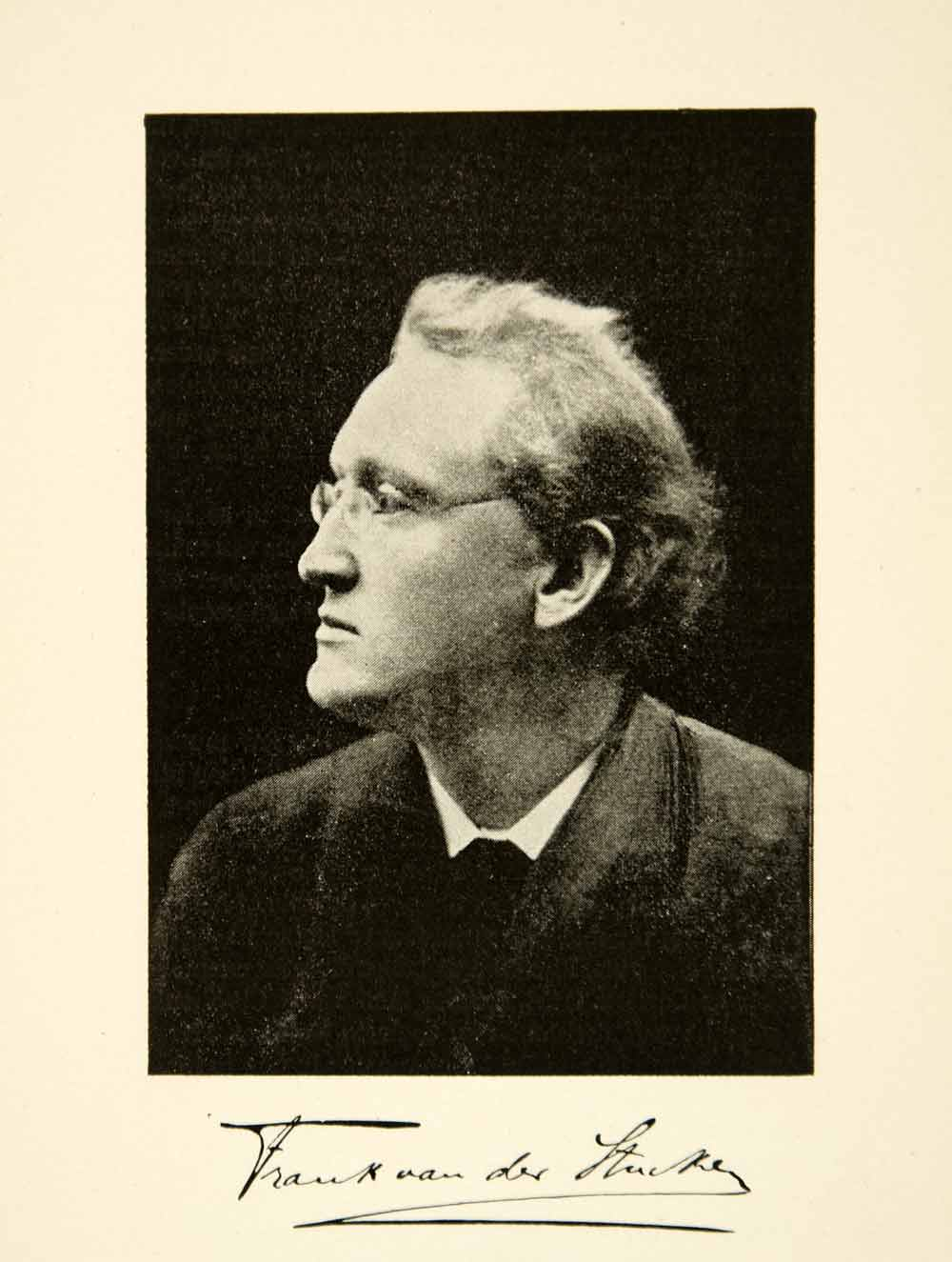 1900 Print Frank Van Der Stucken Portrait Music Composer Cincinnati XMA5