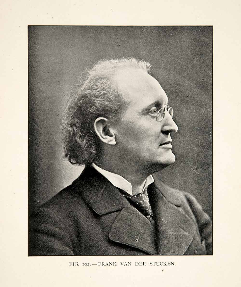 1904 Print Frank Van Der Stucken Portrait Music Conductor Cincinnati XMD1