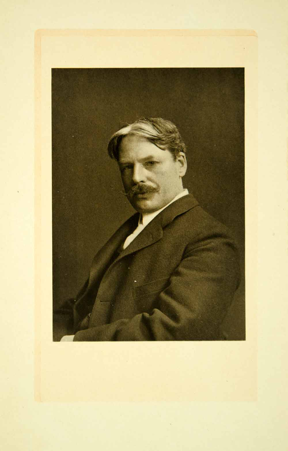 1908 Print Edward Alexander MacDowell Portrait Romantic Music Composer XMG3