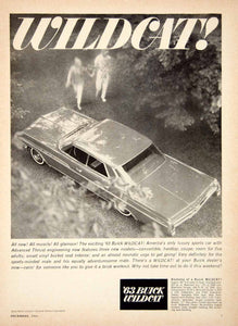 1962 Ad 1963 Buick Wildcat Full Size 4 Door Sedan Nailhead V8 Engine GM YCD1