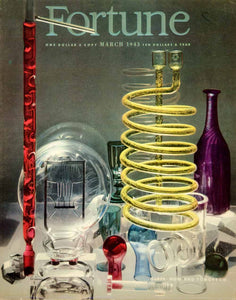 1943 Cover Fortune March Glass Chemistry Lab Tube Glassware Bottle Bulb YFC3