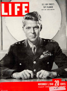 1948 Cover LIFE Lauris Norstad U S Air Force Lieutenant General Philippe YLMC1