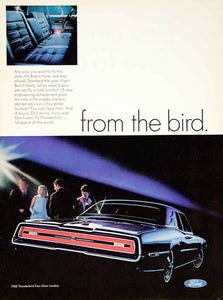 1967 Ad 1968 Ford Thunderbird Hardtop Car Automobile Classic Four-Door YMMA3