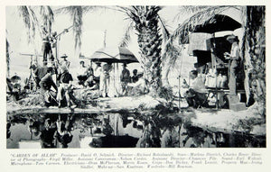 1936 Print Garden of Allah Selznick Movie Filming Set Scene Marlene YMP4
