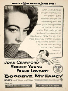 1951 Ad Movie Goodbye My Fancy Joan Crawford Robert Young Vincent Sherman YMS2