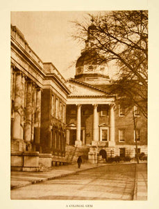 1924 Photogravure Maryland State House Annapolis Dome Historic Landmark YTMM4
