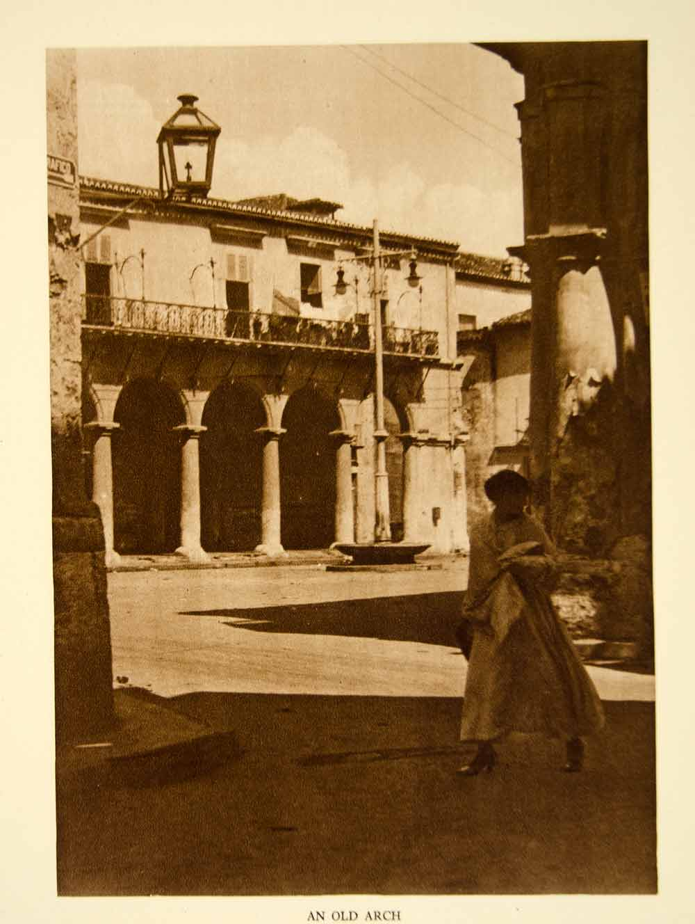 1924 Photogravure Havana Cuba Cityscape Colonial Architecture Buildings YTMM4