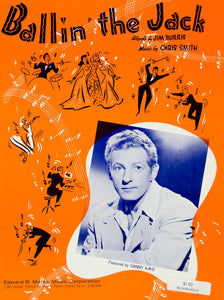 1941 Sheet Music Ballin' the Jack Dance Jazz Danny Kaye Jim Burris Chris ZSM4