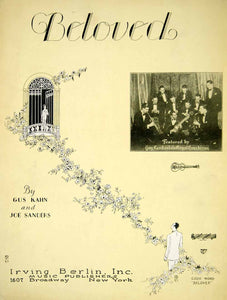 1928 Sheet Music Beloved Guy Lombardo Royal Canadians Band Vintage Song ZSMA1